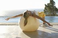 Kort en efficient trainen met de swiss ball