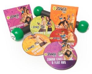 Zumba Fitness DVD Set voor thuis